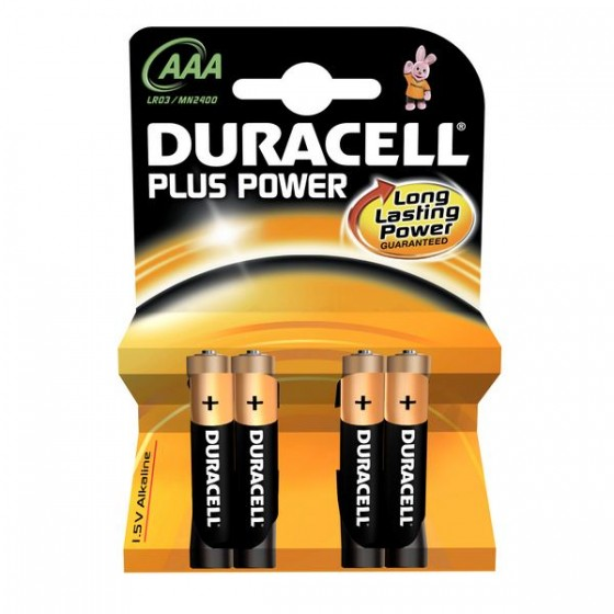 Duracell Micro MN2400 Plus Power in 4er-Blister