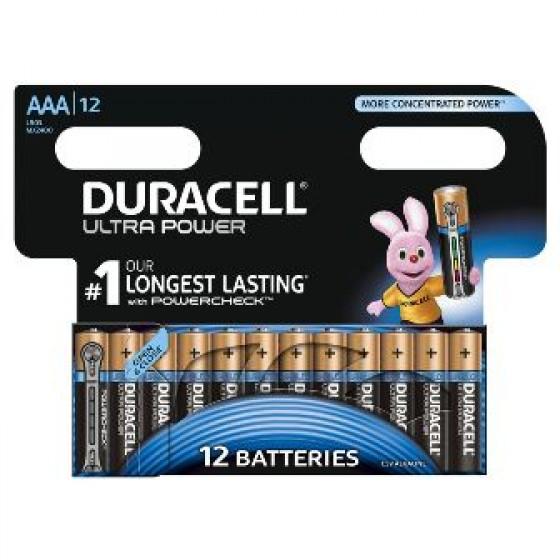 Duracell Micro MX2400 Ultra Power im 12er-Blister (wiederverschließbar)