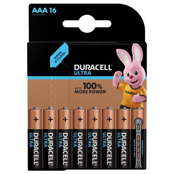 Duracell Micro MX2400 Ultra Power im 16er-Blister mit Powercheck (wiederverschließbar)