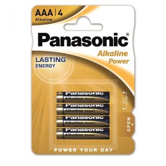 Panasonic Micro Alkaline Power LR03 (AAA) in 4er-Blister