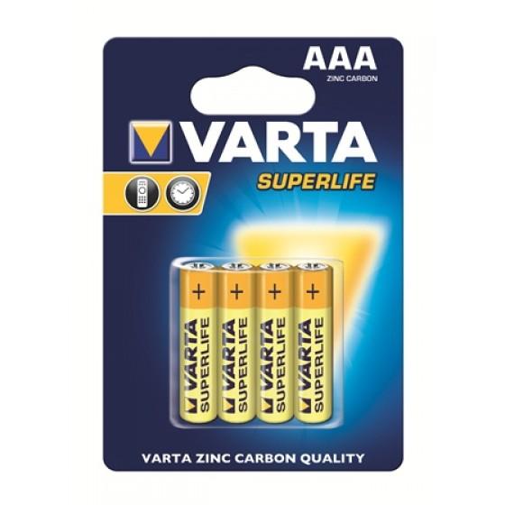 Varta Micro 2003 101 414 Superlife ZK in 4er-Blister