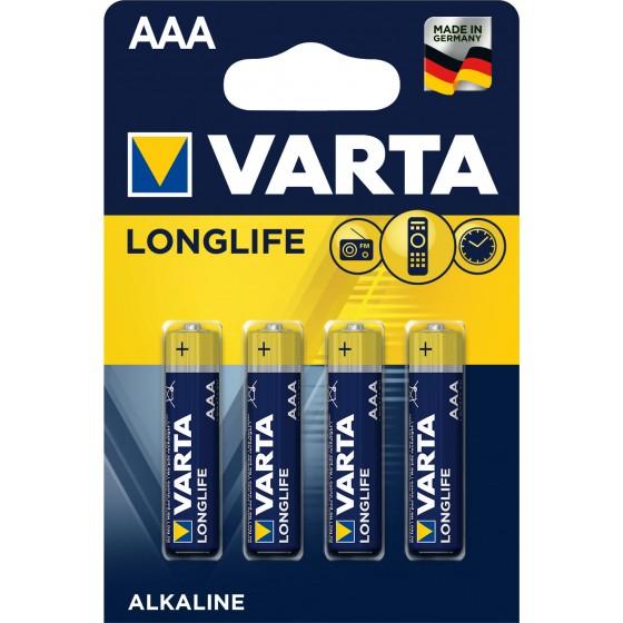 Varta Micro 4103 110 414 LONGLIFE in 4er-Blister -DE-