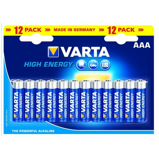 Varta Micro 4903 121 482 HIGH ENERGY in 12er-Blister