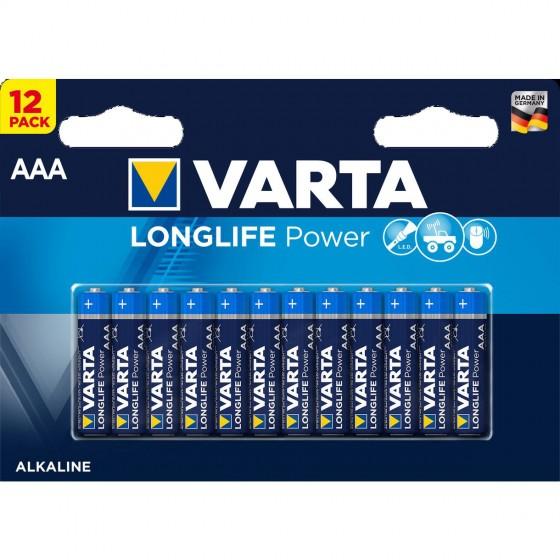 Varta Micro 4903 121 482 LONGLIFE Power in 12er-Blister
