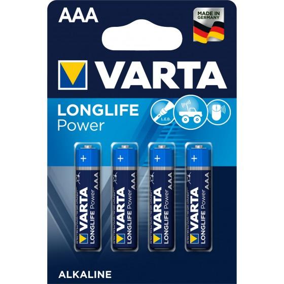 Varta Micro 4903 110 414 LONGLIFE Power in 4er-Blister - DE -