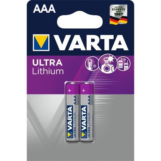 Varta Micro 6103 301 402 ULTRA Lithium in 2er-Blister