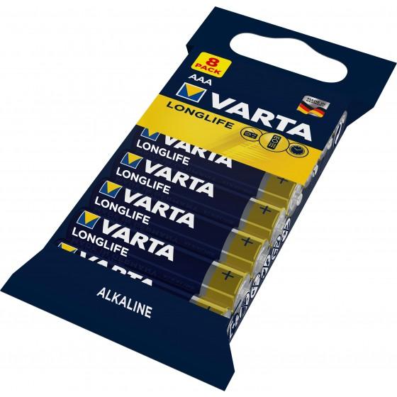 Varta Micro 4103 101 328 LONGLIFE in 8er-Folie