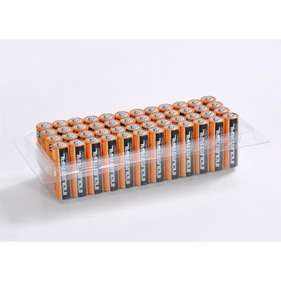 48er-Box bestückt mit Duracell Industrial Mignon MN1500