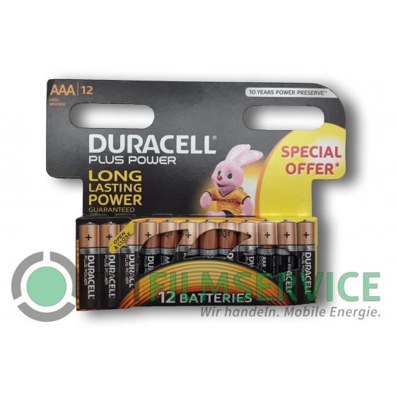 "Duracell Mignon MN1500 Plus Power Duralock in 12er-Blister ""Special offer"""