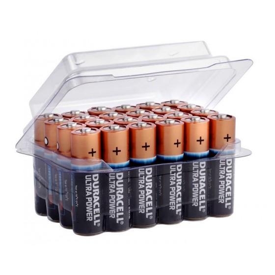24er-Box bestückt mit Duracell Mignon MN1500 Ultra Power