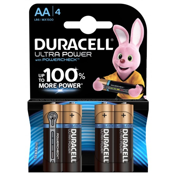Duracell Mignon MX1500 Ultra Power in 4er-Blister