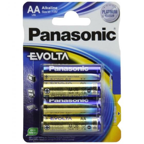 Panasonic Mignon Evolta LR6EGE/4BP (AA) in 4er-Blister