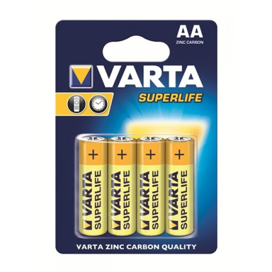Varta Mignon 2006 101 414 Superlife ZK in 4er-Blister