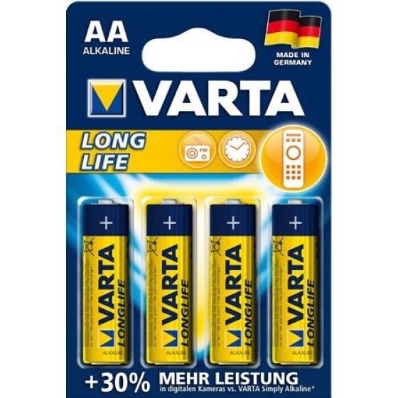 Varta Mignon 4106 110 414 Longlife Extra in 4er-Blister -DE-