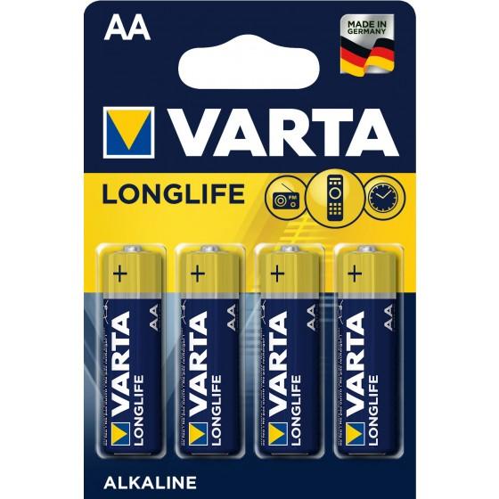 Varta Mignon 4106 110 414 LONGLIFE in 4er-Blister -DE-