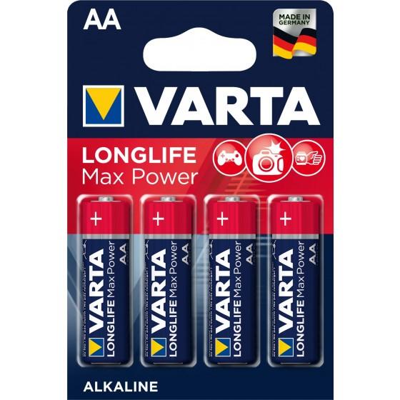 Varta Mignon 4706 110 404 LONGLIFE MAX POWER in 4er-Blister - DE-