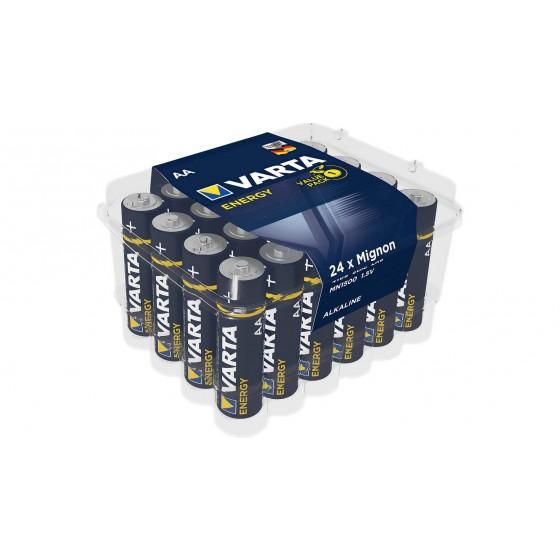 24er-Box Varta Mignon 4106 229 224 Energy Alkaline