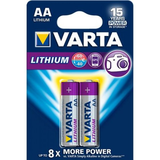 Varta Mignon 6106 301 402 Professional Lithium in 2er-Blister