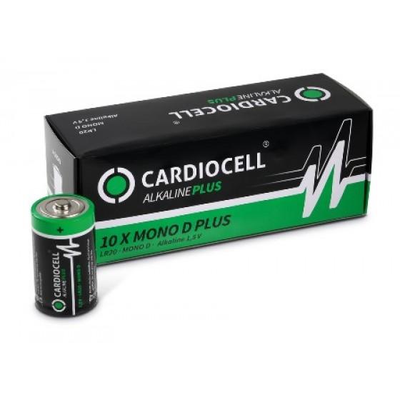 CARDIOCELL Mono PLUS D  - LR20 Alkaline in 10er-Box (2er-Folie)