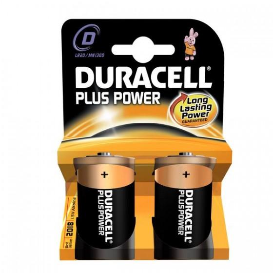 Duracell Mono MN1300 Plus Power in 2er-Blister