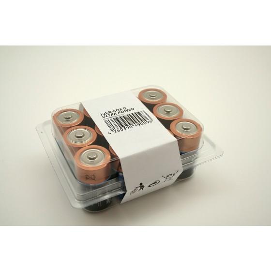 12er-Box bestückt mit Duracell Mono MN1300 Ultra Power