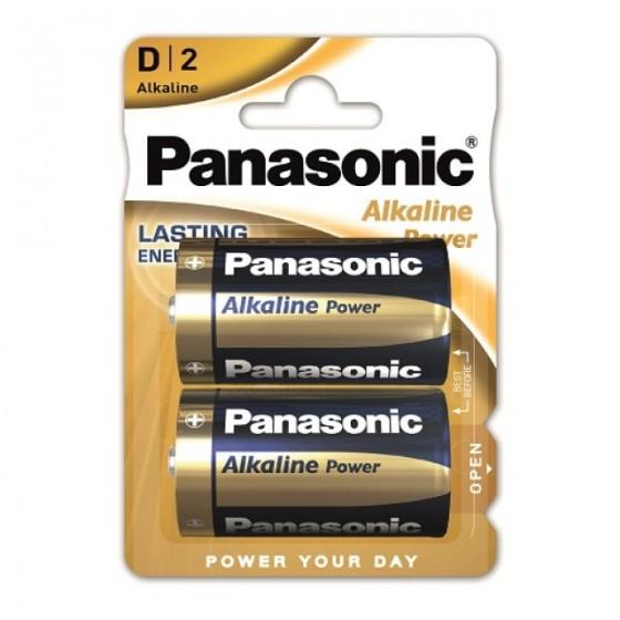 Panasonic Mono Alkaline Power LR20 (D) in 2er-Blister