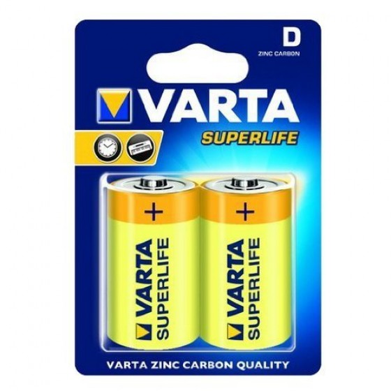 Varta Mono 2020 101 302 Superlife ZK in 2er-Folie