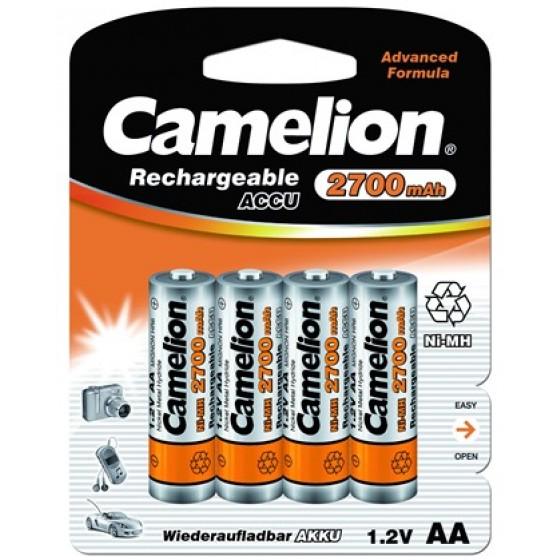 Camelion Mignon-Akku 2700mAh NiMH in 4er-Blister inkl. Aufbewahrungsbox