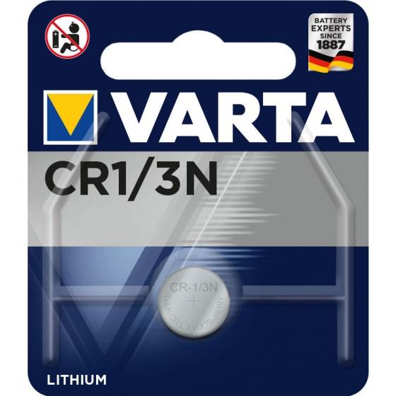 Varta CR1/3N 6131 101 401 (K58L - DL 1/3N - 2L76) 3V Lithium in 1er-Blister
