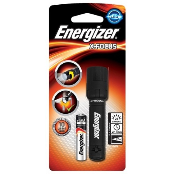 Energizer Taschenlampe X-Focus LED 1AAA