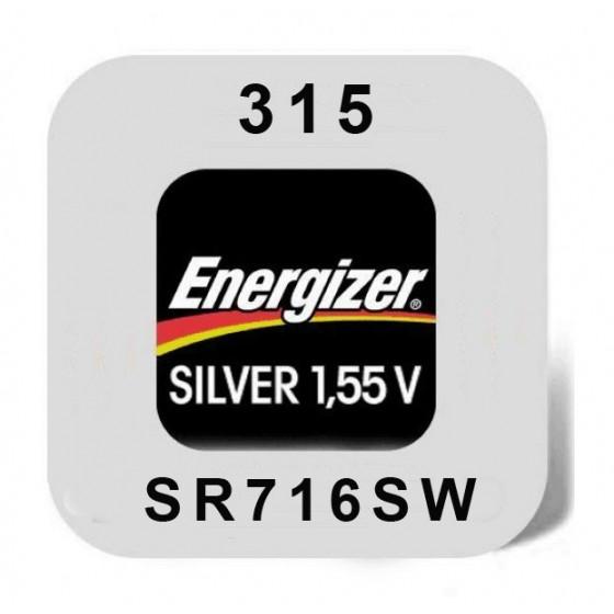 Energizer 315 Uhrenbatterie in 1er-Miniblister
