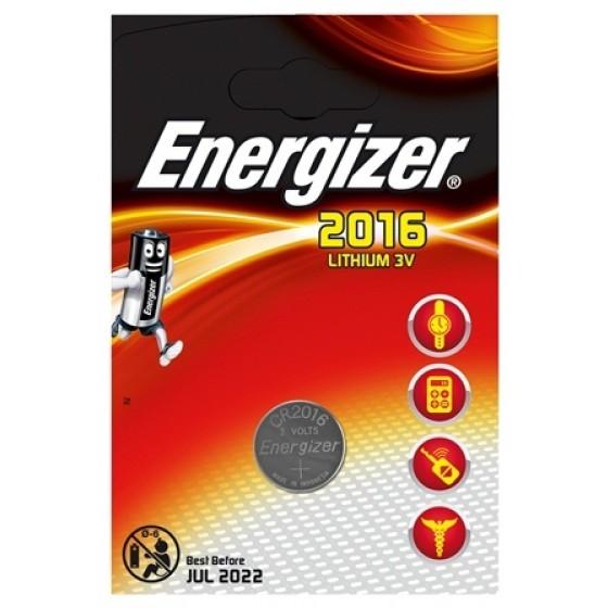 Energizer CR2016 3V Lithium im 1er Blister