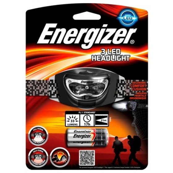 Energizer Kopflampe 3 LED Headlight