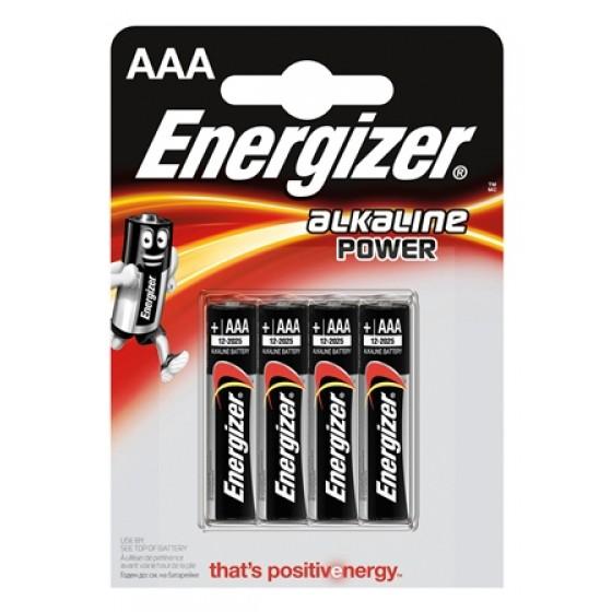 Energizer Alkaline Power Micro (AAA) 4er Blister