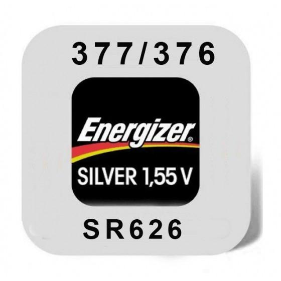 Energizer 377/376 Uhrenbatterie in 1er-Miniblister