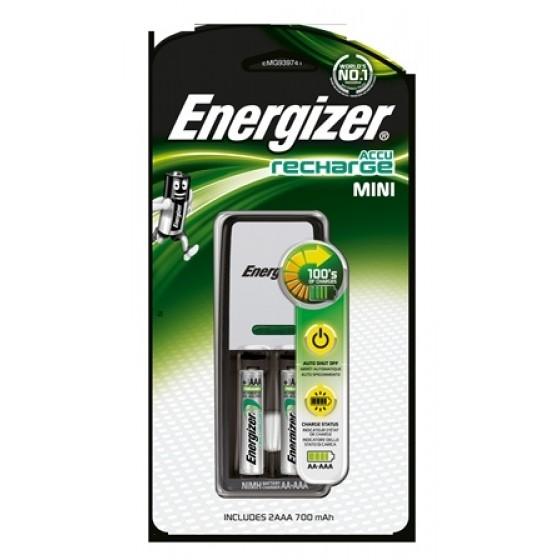 Energizer Ladegerät Mini Charger 2 x AAA 700 mAh 1er Blister
