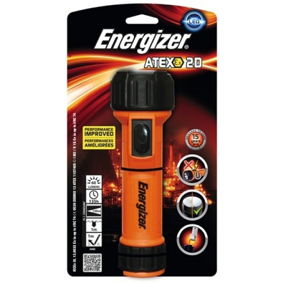 Energizer Taschenlampe 2D ATEX