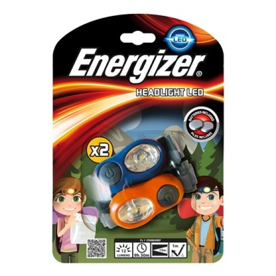 Energizer Kopflampe Kids Headlight Twin Pack