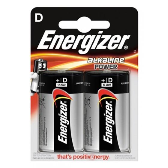 Energizer Alkaline Power Mono (D) 2er Blister