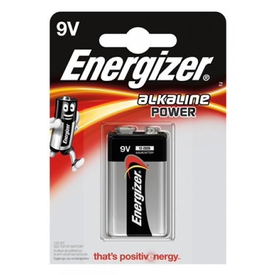 Energizer Alkaliine Power E-Block (9V) 1er Blister