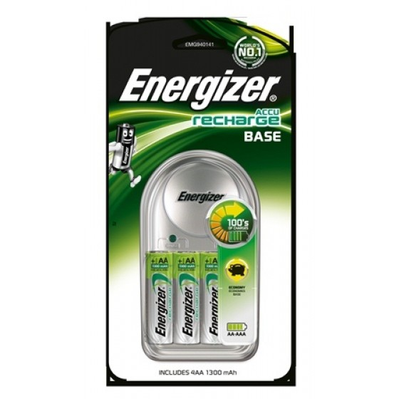 Energizer Ladegerät Value / Base Charger 4 AA 1300 mAh 1er Blister