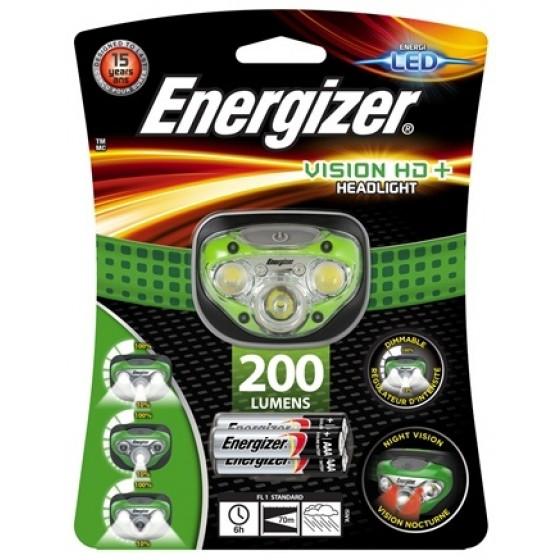 Energizer Kopflampe Vision HD+ inkl. 3 AAA