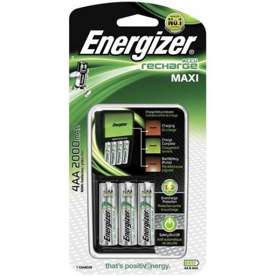 Energizer Ladegerät Maxi Charger inkl. 4xAA 2000 mAh