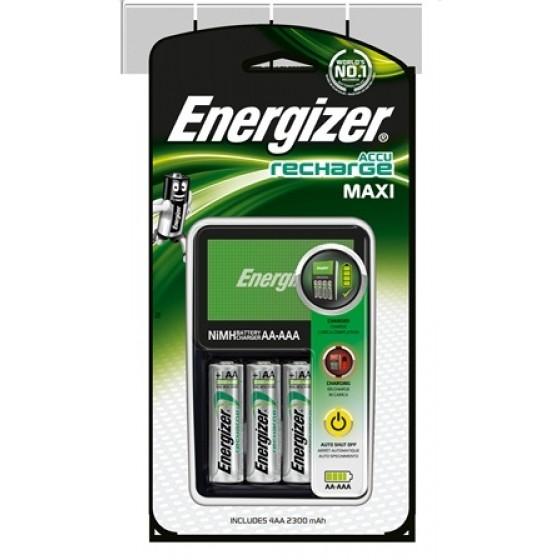 Energizer Ladegerät Maxi Charger +4AA 2300 mAh 1er Blister