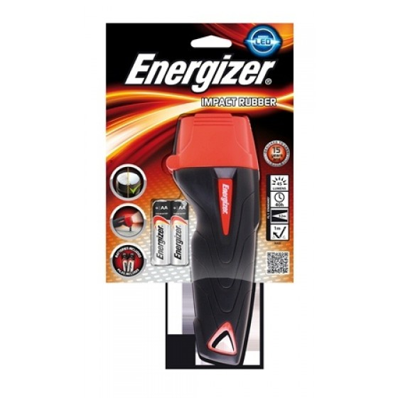 Energizer Taschenlampe Impact Rubber 2AA