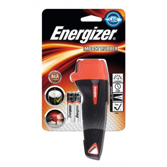 Energizer Taschenlampe Impact Rubber 2AAA