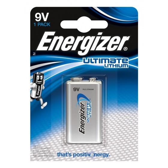 Energizer 9V E-Block Ultimate Lithium im 1er-Blister