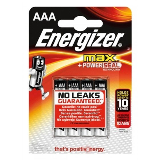 Energizer Max Micro (AAA) 4er Blister