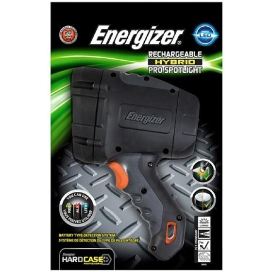 Energizer Taschenlampe Hardcase Rechargeable Hybrid Pro Spotlight