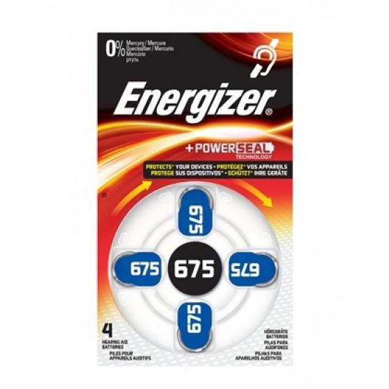 Energizer Hörgerätebatterie Nr. 675 Turn & Lock in 4er Blister